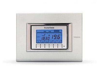 Crono termostato da incasso a batterie ch141a fantini for Termostato fantini cosmi ch110 istruzioni