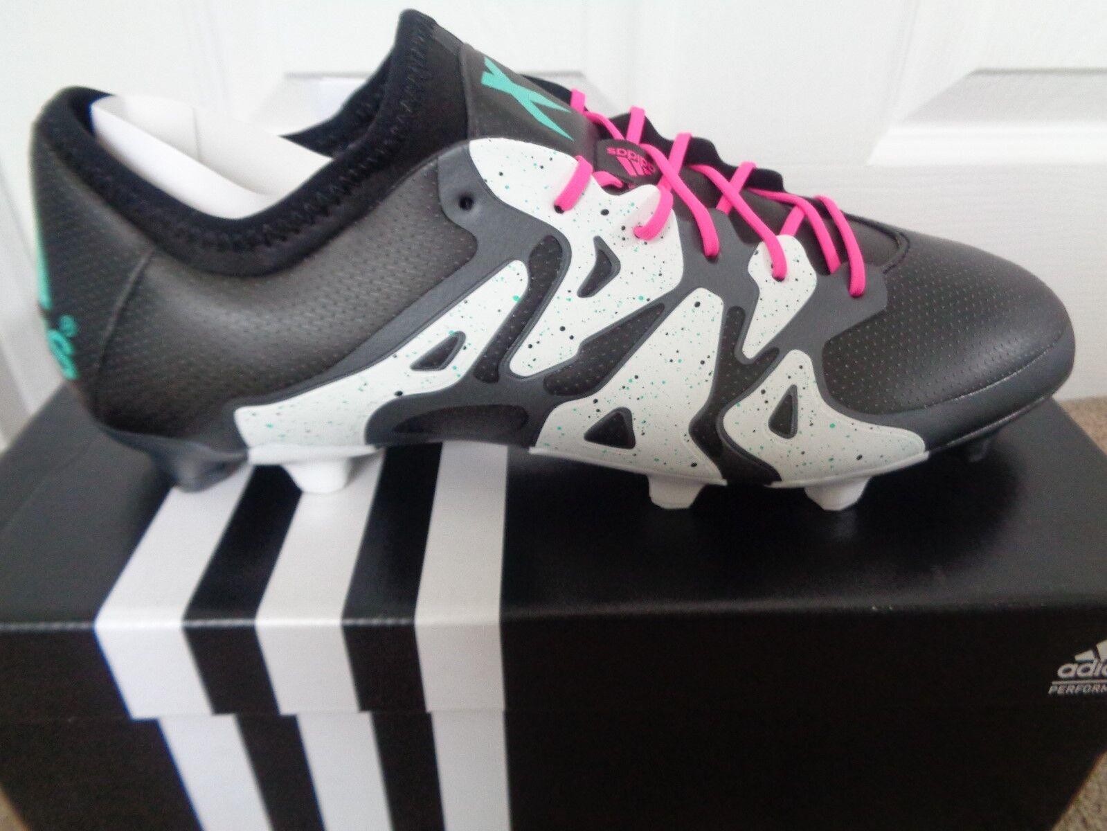 Adidas X 15.1 FG botas De Fútbol AG S78175  3 nos 12.5 Nuevo + Caja