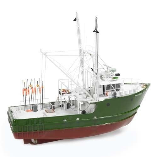 Andrea Gail  Perfect Storm  1 60 Scale Billings Boats Wooden Ship Kit B608