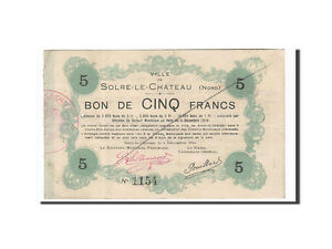 162992-France-Solre-le-Chateau-5-Francs-1914-EF-40-45-ANNULE