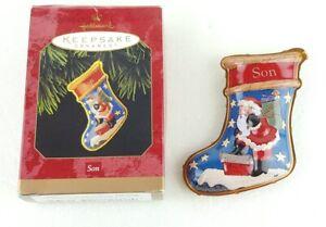 Hallmark-Keepsake-Ornament-Son-1997-New-Fast-Shipping-Great-Christmas-Gift