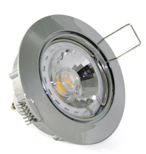 1-20er Set Einbaustrahler Lisa 230V COB 3 Watt = 25 Watt Power Led GU10