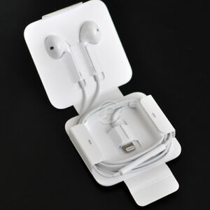 Original Apple Oem Earpods Earphones Lightning For Iphone