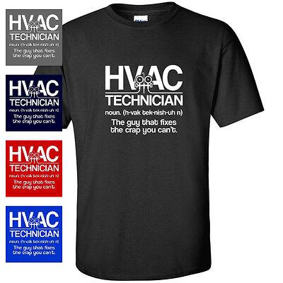 Blackout Tees HVAC Technician Definition Gift Tee Funny Humor Mens T-Shirt