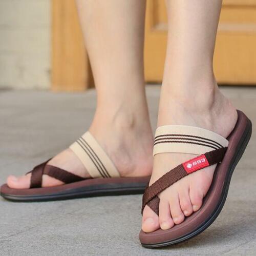 Unisex Summer Beach Sandals Mens Womens Outdoor Flip Flops Flat Slip On Slippers