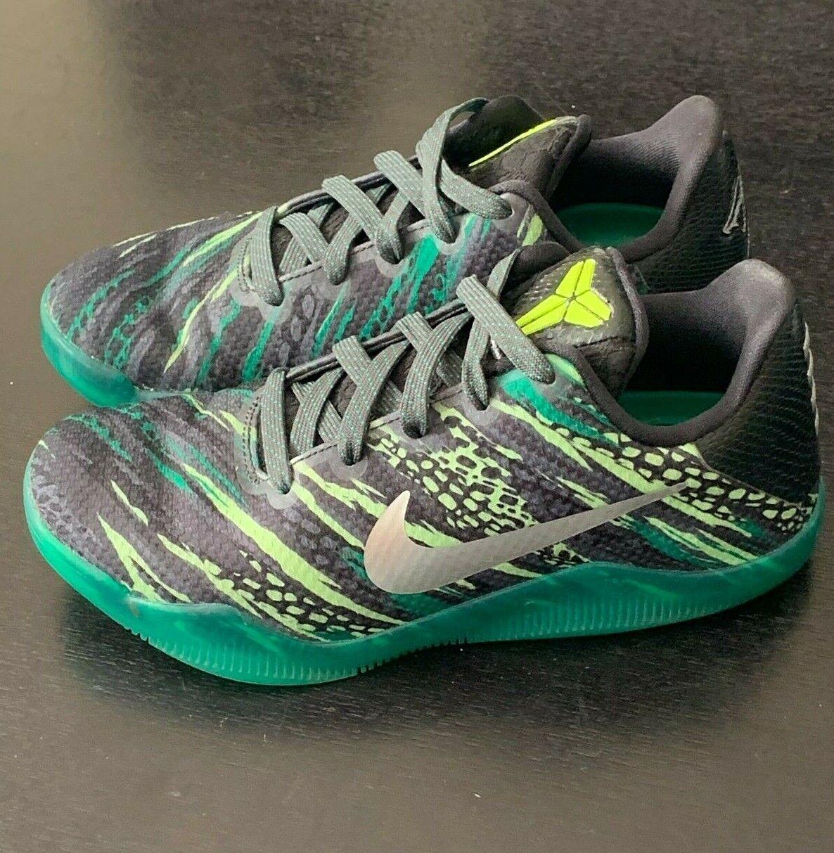 Nike Kobe XI GS 11 Bryant Green Snake