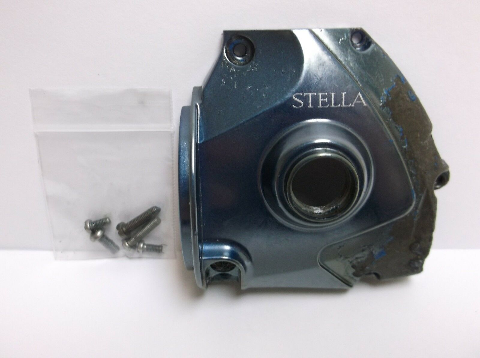USED SHIMANO SPINNING REEL PART  Stella 20000 FA - Body Side Cover  D Corrosion
