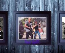 Vin Diesel & Paul Walker Fast & Furious 5 SIGNED FRAMED 10x8 REPRO PHOTO PRINT