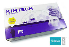 Kimberly Clark Kimtech Purple Nitrile Exam Gloves Box Of 100 Newest Stock