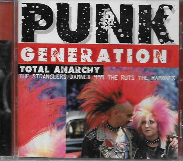 Punk Generation / Total Anarchy CD 1995