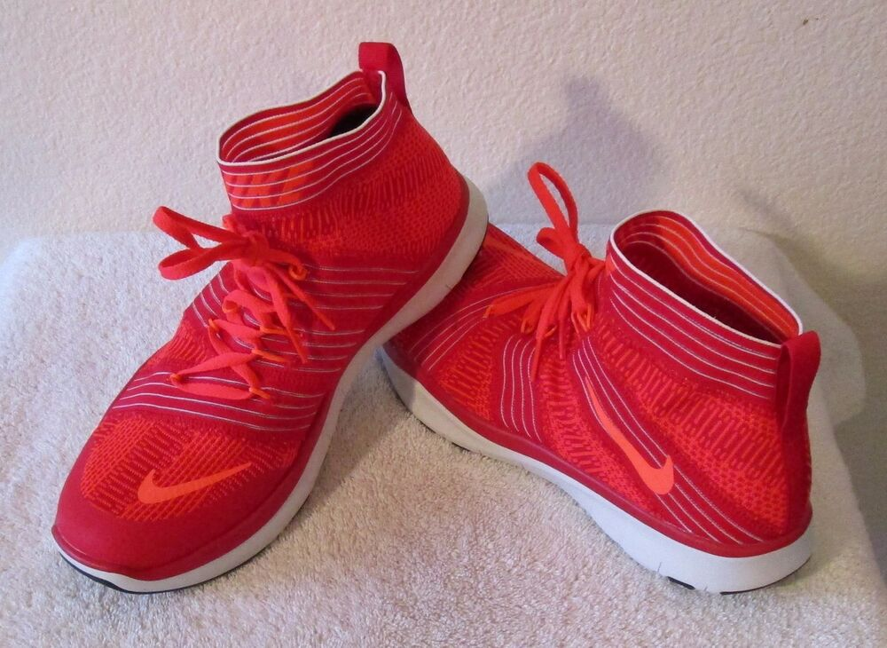 NEW Nike Free Train Virtue homme Training chaussures 11 University rouge 130