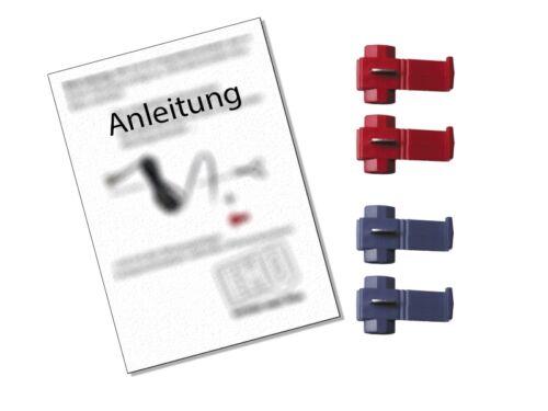 Lautsprecherringe Adapter Set für BMW 3er E46 Limo 1998-2005 vorne//Heck 130mm