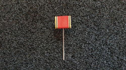 Miniaturordenspange Bundesverdienstkreuz Medaille an langer Nadel
