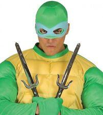 Toy Plastic Ninja Sais Fancy Dress Weapons Daggers Swords Halloween Knife Blade