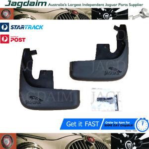 New-Jaguar-X-Type-Front-Mud-Flap-Splash-Guard-Set-2001-2008-C2S33913