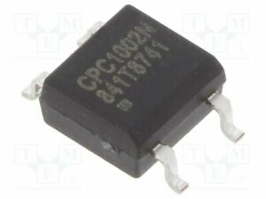 État Solide 700 mA max.60VDC SMT SOP4 4.09x3.81x2.03mm IXYS CPC1002N relais