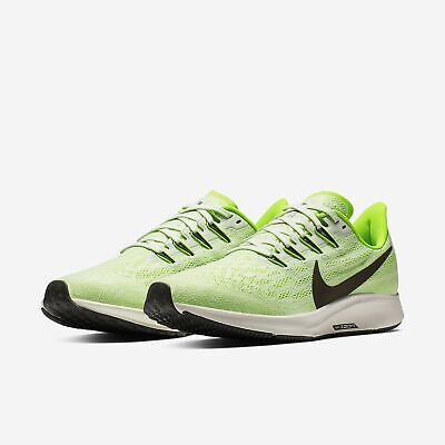 on sale 7d740 3bb7d Nike Air Zoom Pegasus 36 Phantom//Electric Green Mens Running 2019 All NEW  | eBay