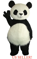 Newpanda Bear Mascot Costume Adult Size Party Sale High Qualityus Seller