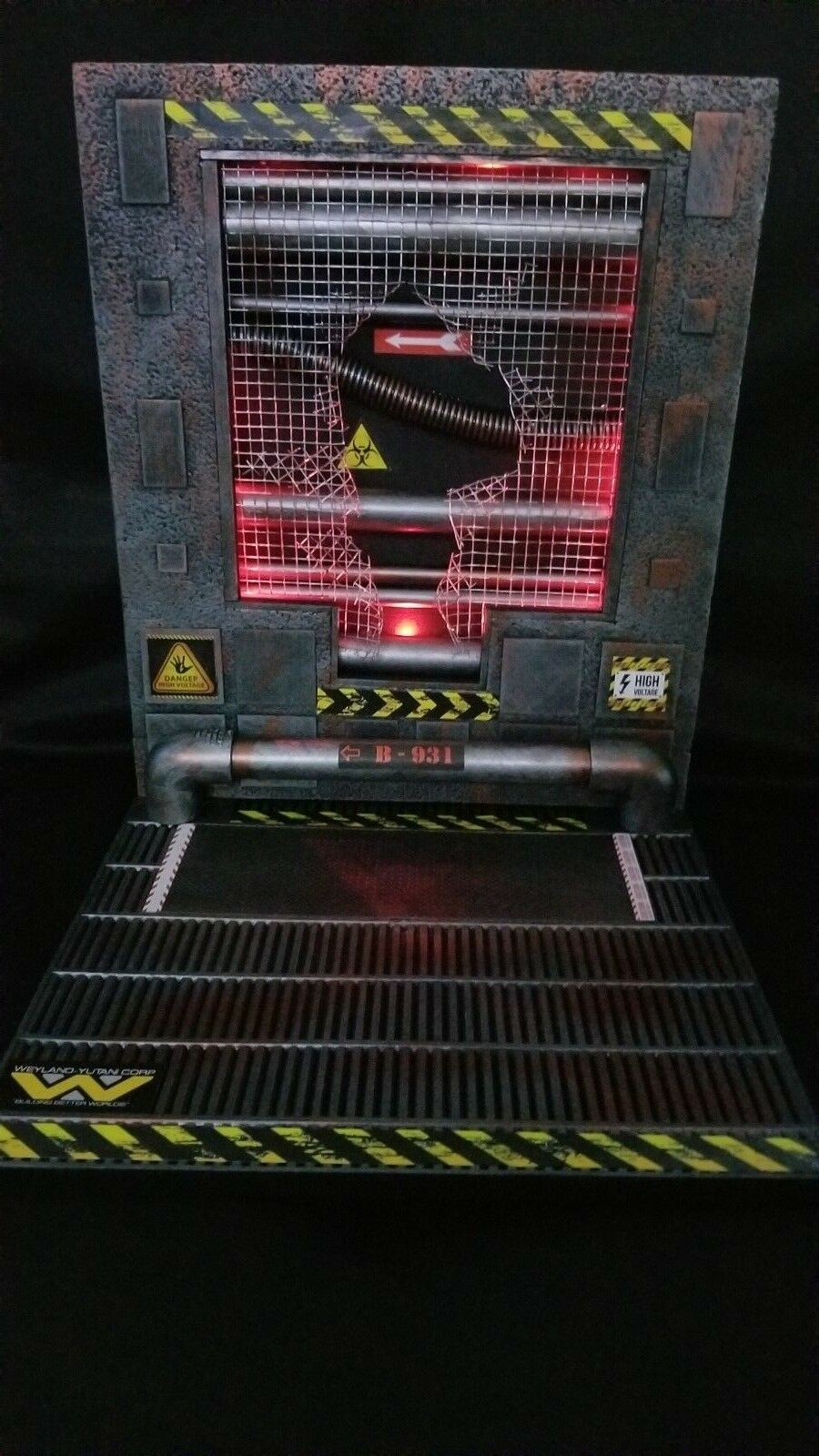 Xenowerx alien detolf diorama stehen avp raubtier neca xenomorph
