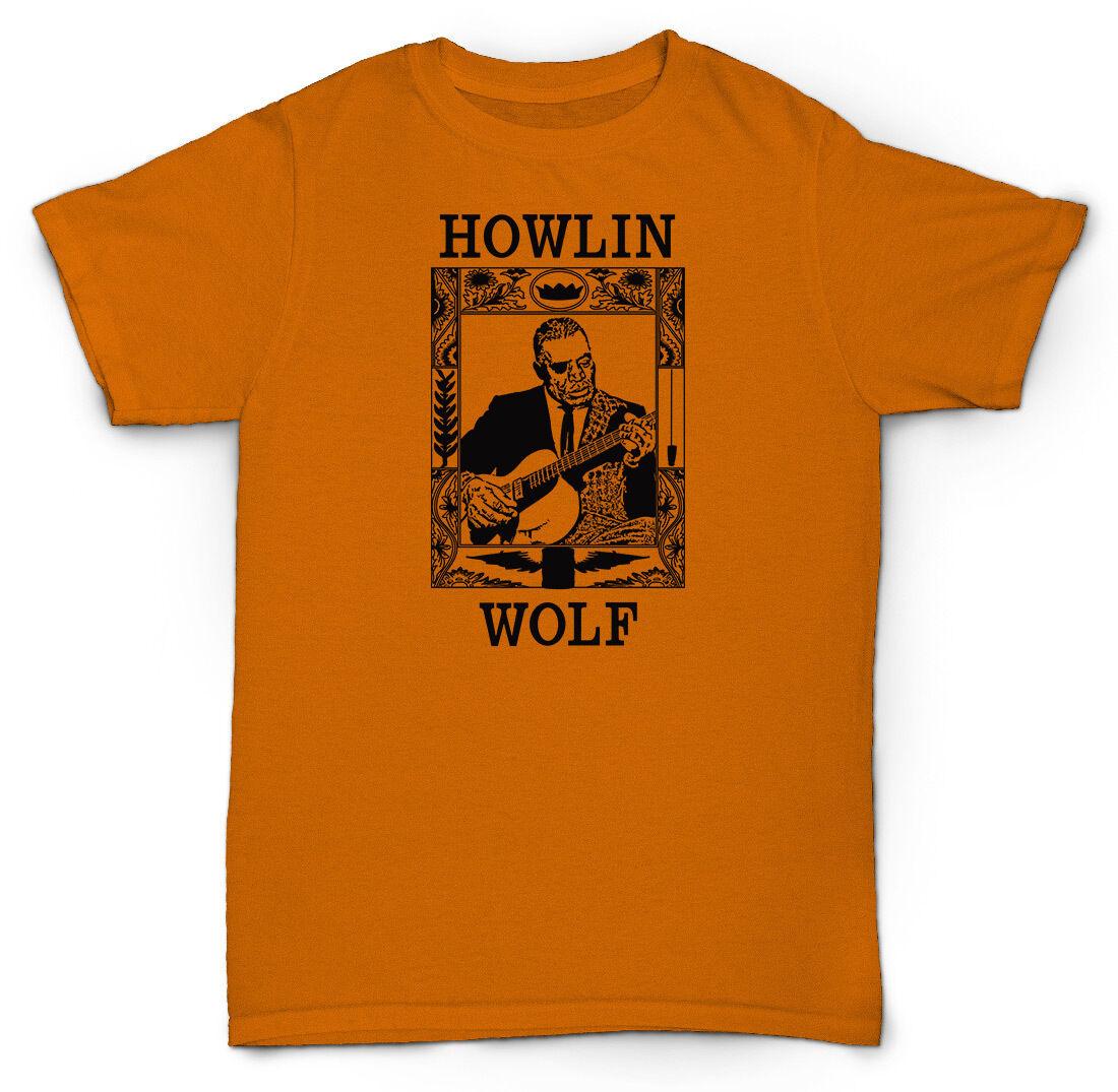Howlin /'Wolf Unofficial SMOKE STACK Lightnin/' Blues 3//4 Manche Baseball Tee