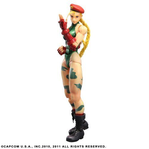 Super Street Fighter IV Play Arts Kai  Vol. 2 Cammy