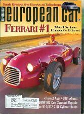 1997 European Car Magazine: Ferrari #1 Enzo's First/Audi 4000/BMW M3 Sprocket