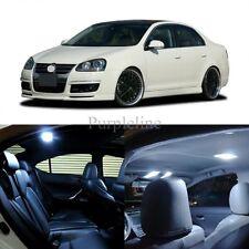 11 x Xenon White LED Interior Light For 2005 - 2010 Volkswagen VW Jetta MK5