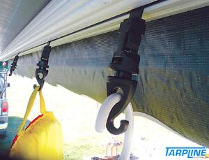 Caravan Awning Hangers X 4 Hang Lights Flags Etc From