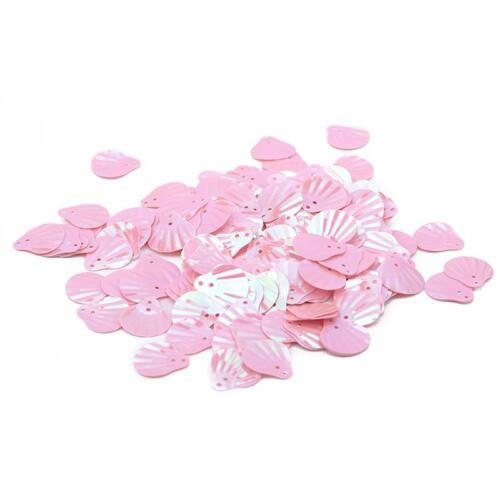 Shell Shape Handmade Materials DIY Supplies Pvc Beautiful Crystal Glue Decor 6T