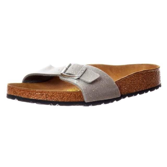 035024731d61 Birkenstock Madrid 438081 - Magic Galaxy Silver Ladies Sandals ...