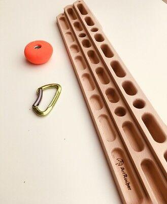 Climbing Portable Hangboard//fingerboard Training seconds