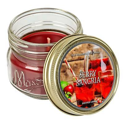 Mason Scented Jar Candle Old Williamsburgh Berry Sangria 3 Oz 601486417025 Ebay