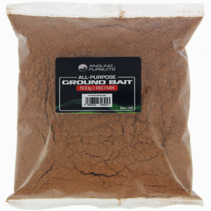 1 PACKet OF RED GROUND BAIT  FROM ANGLING PURSUITS 500gr PACK