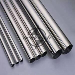 2Pcs 304 Stainless Steel Capillary Tube OD 1.5mm x 1.1mm ID Length 0.5m