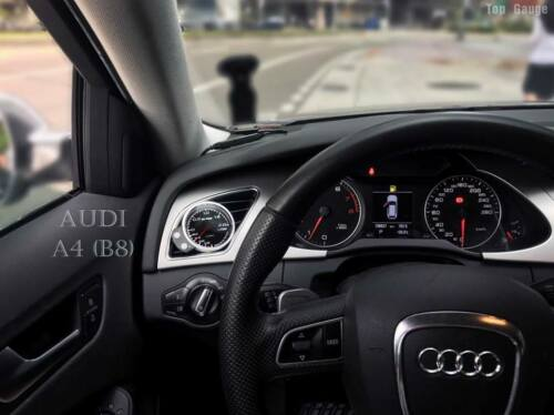 A5 B8 60mm or 52mm air vent Gauge pod mounting kit fits AUDI A4 8T