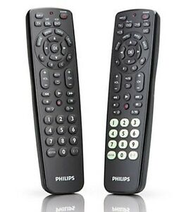 Philips-SRC2063WM-Universal-2-Pack-Remote-Control-For-Blu-ray-DVD-DVDR-HDD-TV-CD