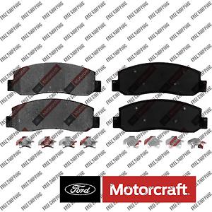 BR1069 Disc Brake Pad-Standard Premium Front Motorcraft Fits Ford F-250 F-350