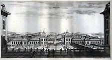 SAALSTAD Ansicht des Schlosses grosser Kupferstich 1694 - Original!