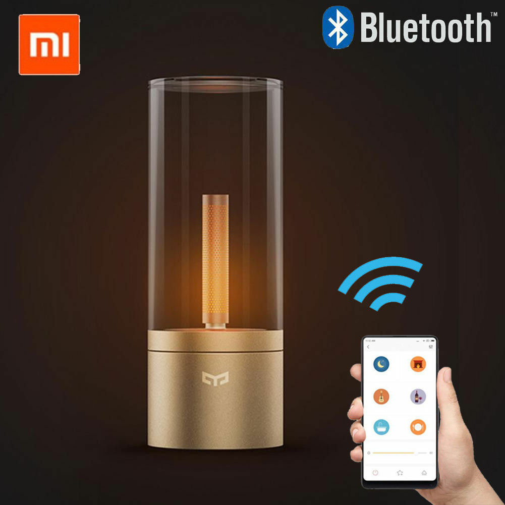Xiaomi Yeelight Smart LED Candle Light Rotate Dimmable Atmosphere Night Lamp