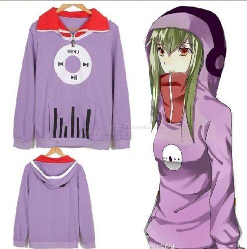 Kagerou Project Tsubomi Kido Hoodie Anime Music coat Jacket Cosplay Hoody