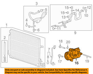 image is loading gm-oem-a-c-ac-compressor-84123928