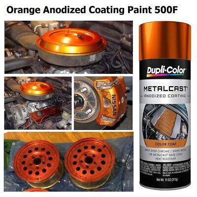 orange anodized metal cast coating high temp rotor caliper paint engine enamel  ebay