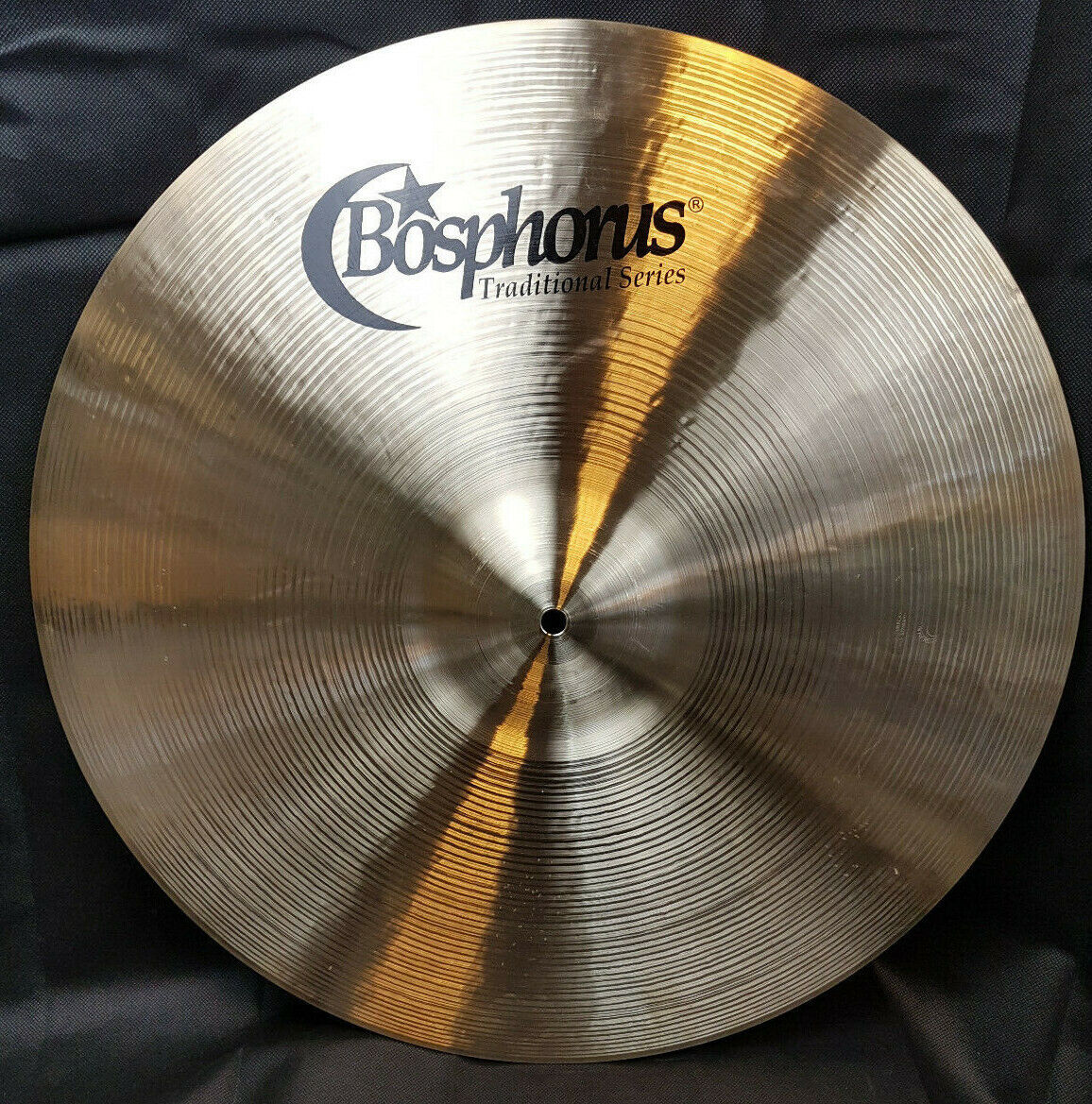 Bosphorus Traditional Thin Ride Becken 21  Cymbal 2144g Musikmesse 2019 Piatto