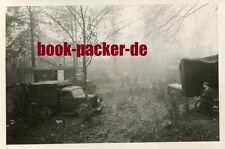 Altes Foto/Vintage photo: Zweiter Weltkrieg Polen Waldlager Korozanka 1941