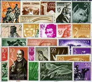 Sahara-Espagnol-Sahara-Spanish-150-timbres-differents