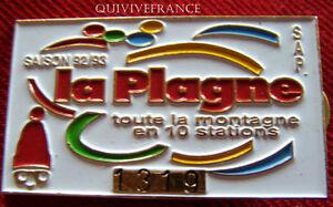 SK1194-INSIGNE-SKI-SAP-LA-PLAGNE-SAISON-1992-93