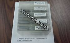 """3/4x4"""" M42 cobalt roughing end mills long 5pcs for $139.00 #1002-CO-34L400-new"""