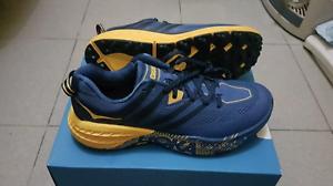 NEW-Mens-HOKA-ONE-ONE-Speedgoat-3-Galaxy-Blue-Old-Gold-9733GBOG-Shoes-c1