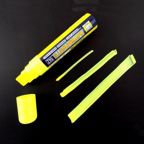 8 Stifte Illumigraph Kreidestift 15 mm Spitze Vorteilspack Farbe wählen ZIG