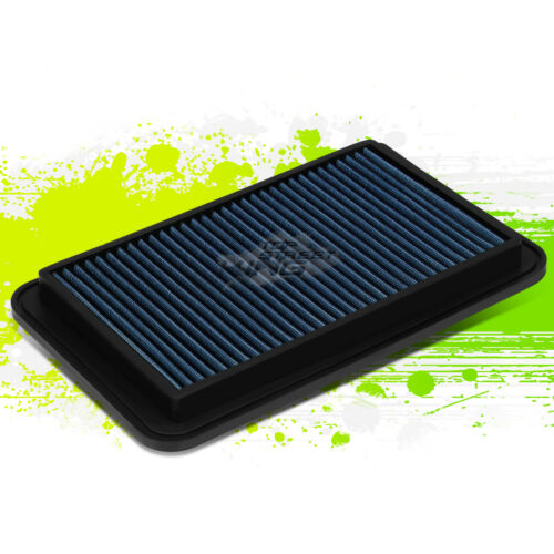 WASHABLE DROP IN PANEL PERFORMANCE AIR FILTER FOR 04-06 SOLARA//CAMRY//SIENNA BLUE